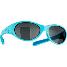 Alpina Flexxy Okulary rowerowe Dziewczynki, turkusowy
